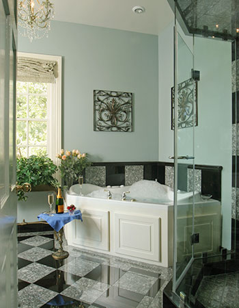 Luxury bathrooms at our San Antonio Bed and Breakfast